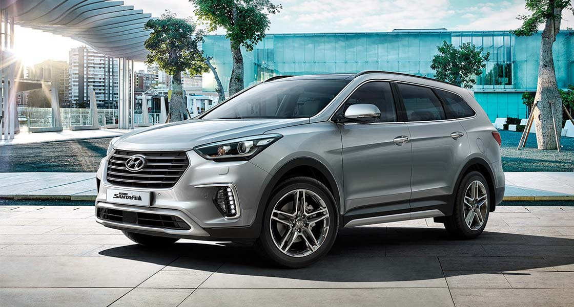 Hyundai GRAND SANTA FE   Галерея, фото   Хюндай Мотор Україна - фото 6