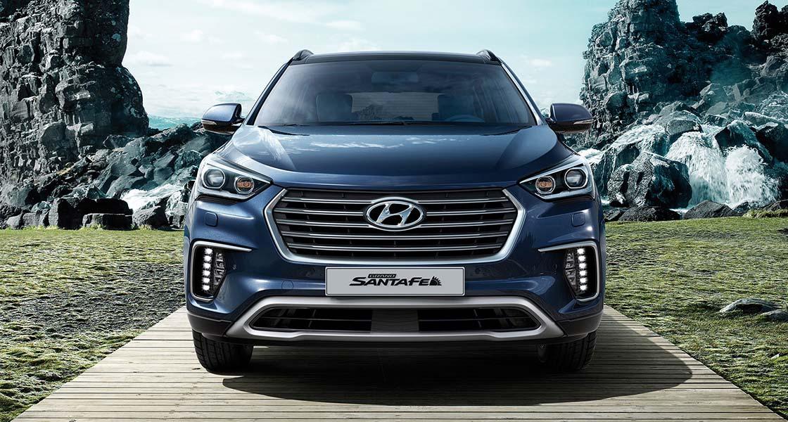 Hyundai GRAND SANTA FE   Галерея, фото   Хюндай Мотор Україна - фото 7