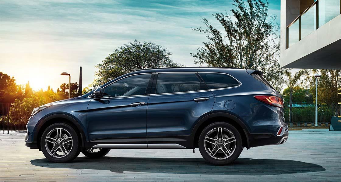 Hyundai GRAND SANTA FE   Галерея, фото   Хюндай Мотор Україна - фото 10